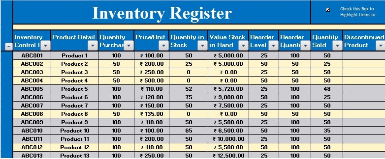 It Inventory Template Inventory Excel Sheet Inventory Excel Sheet