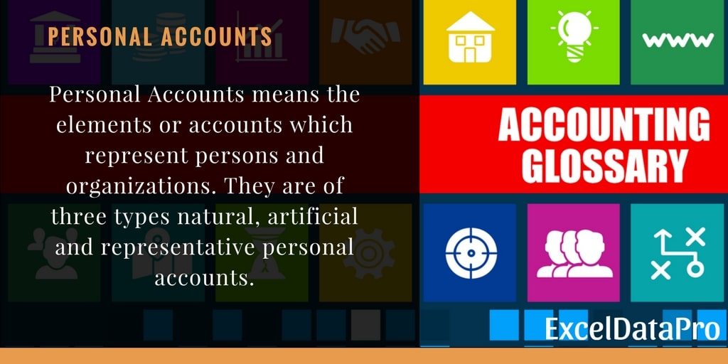 What is Personal Account?