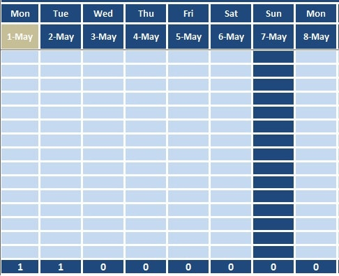 employees attendance sheet in excel format