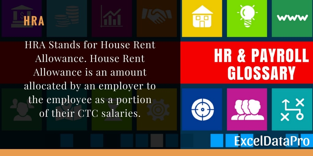 What is HRA?