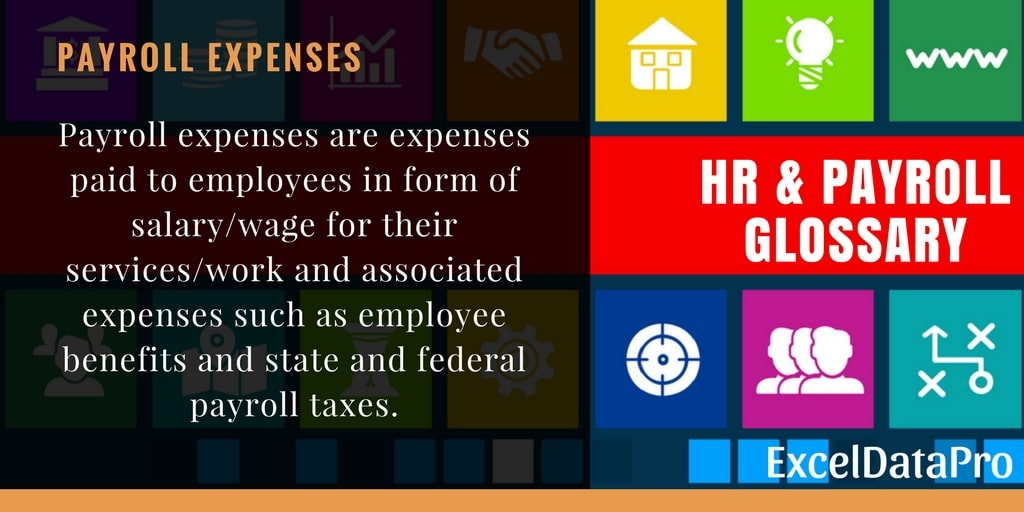 What is Payroll Expenses?