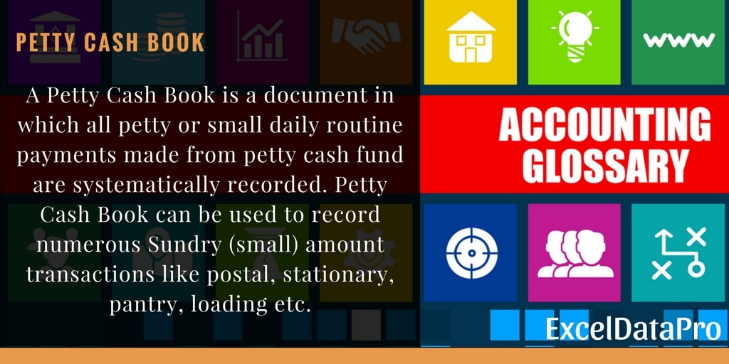 What is Petty Cash Book?