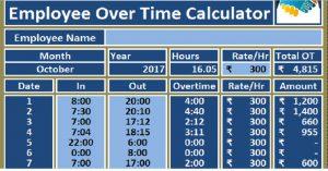 Overtime Calculator