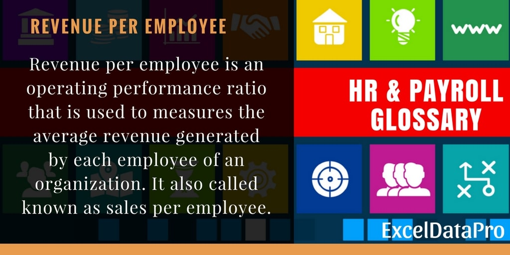 What is Revenue Per Employee?