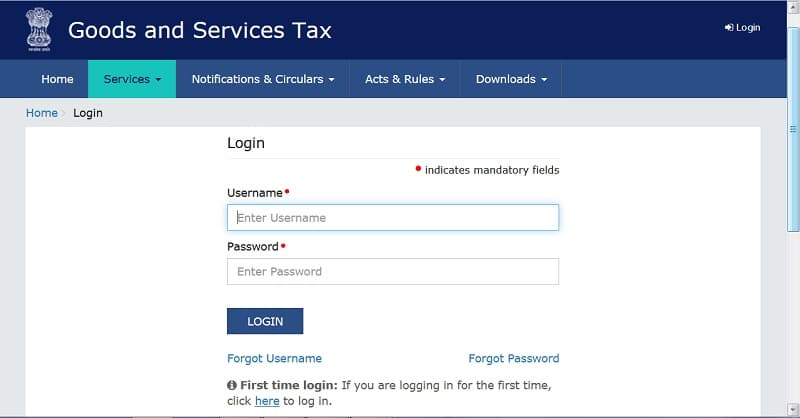 File GSTR-3B Return