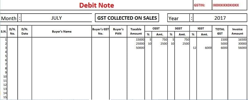 Download revised gst input output tax report in excel exceldatapro revised gst output input tax report altavistaventures Gallery