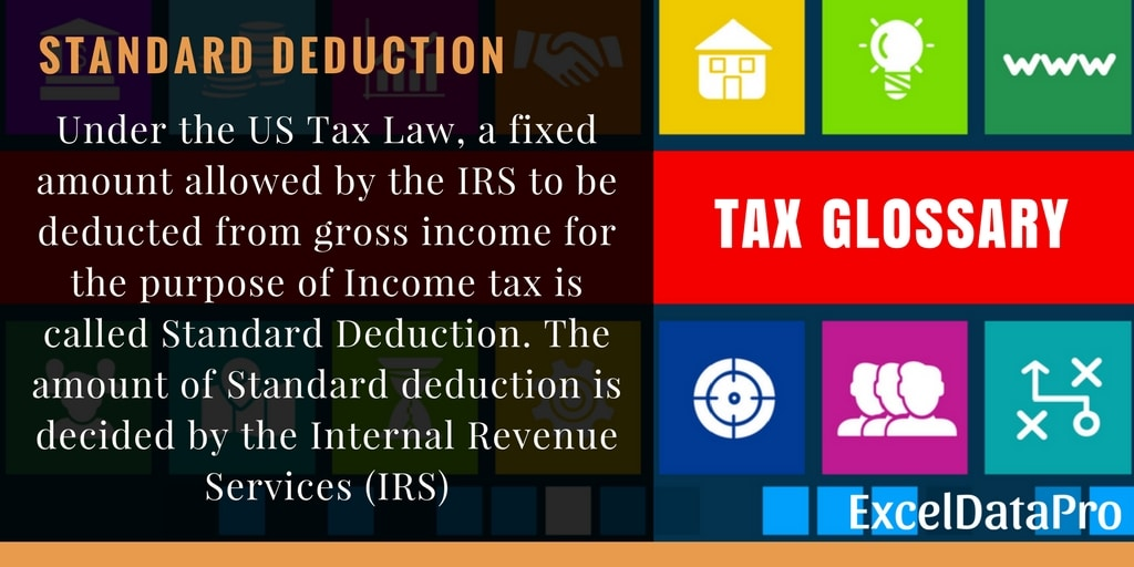 What Is Standard Deduction?
