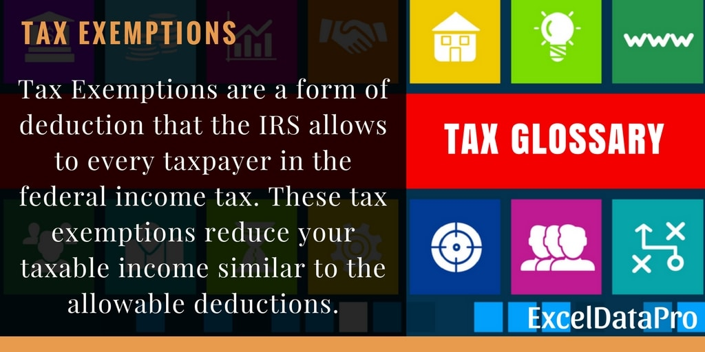 What Are Tax Exemptions?