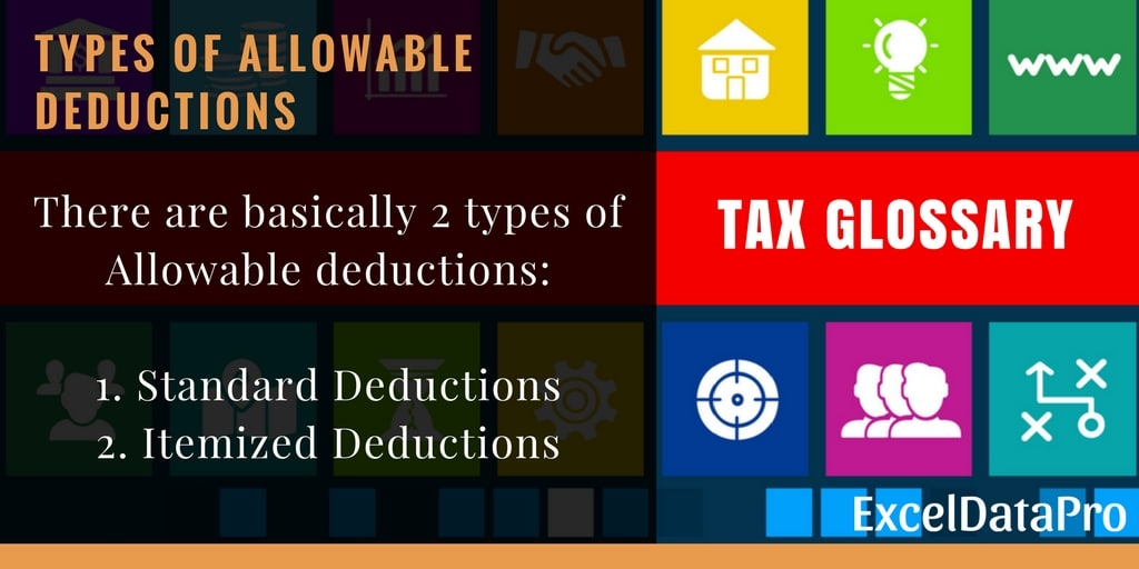 Allowable Deductions