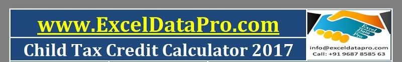 Child Tax Credit Calculator