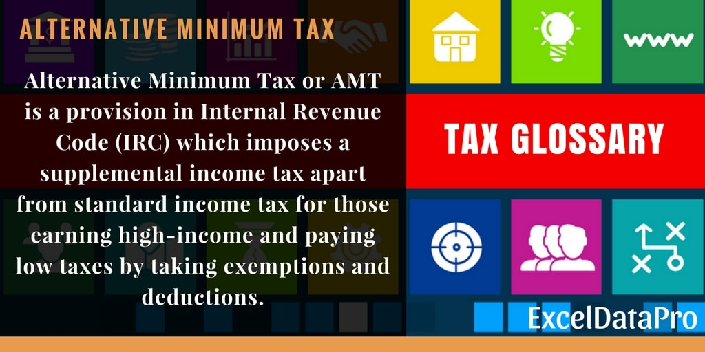 What Is Alternative Minimum Tax (AMT)? Definition, Tax Rates & Exemptions