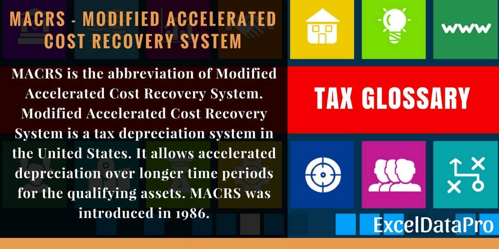 What Is MACRS? Definition, Asset Life & Percentage