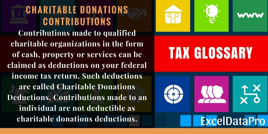 What Are Charitable Donations Deductions – Definition & Limits