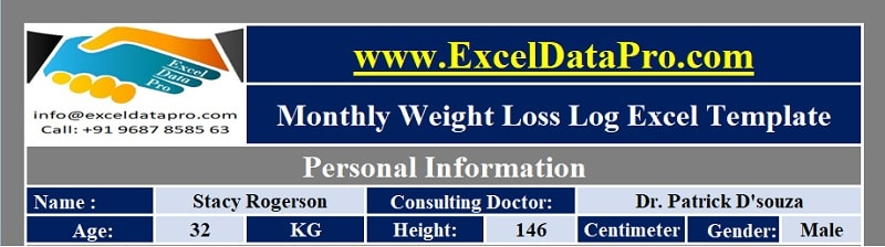 Weight Loss Log