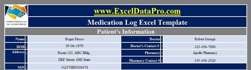 Patient's Info