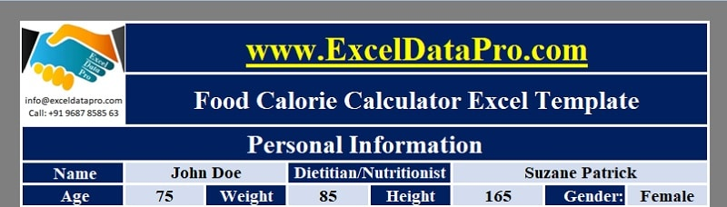 Food Calorie Calculator