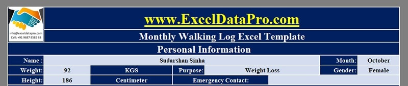 Walking Log