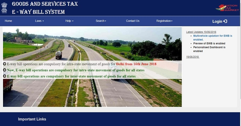 GST E-Way Bill Non-Compliance