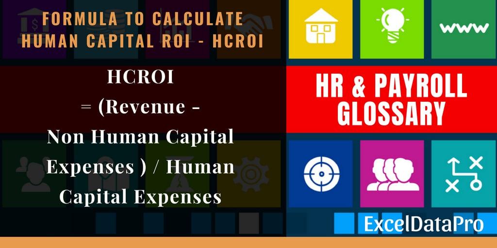 Human Capital ROI