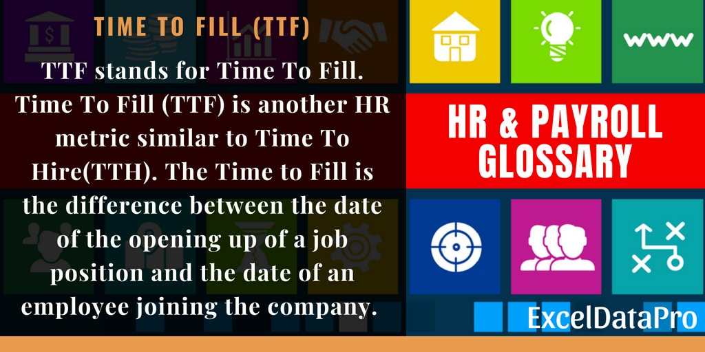 What Is Time To Fill (TTF)?