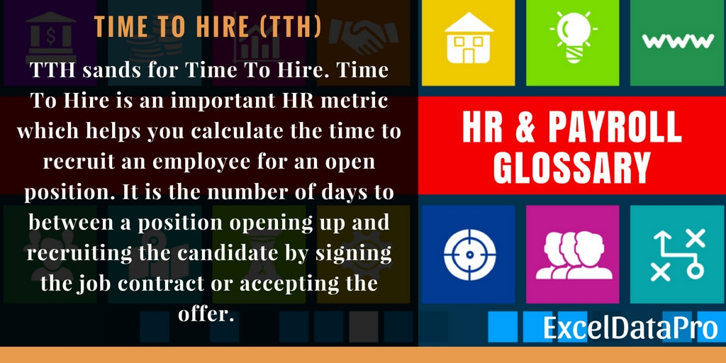 Time To Hire (TTH)