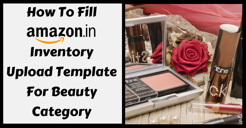 Amazon Template in Excel For Beauty