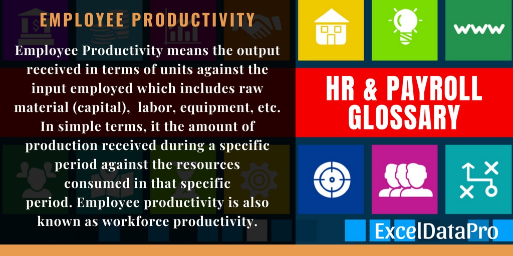 What Is Employee Productivity? Definitions & Formula