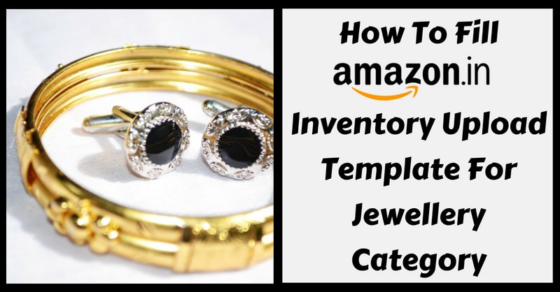 Amazon Template in Excel for Jewellery