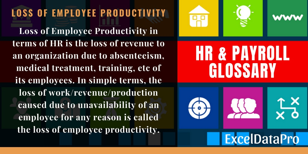 What Is Loss Of Employee Productivity? Definition & Formula