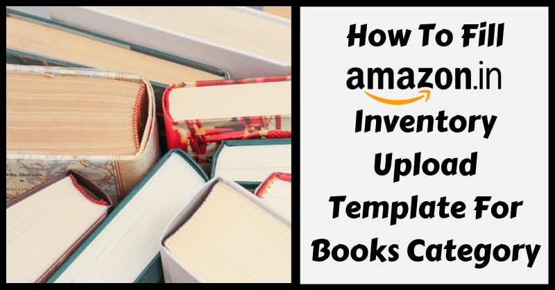 Amazon Template in Excel for Books