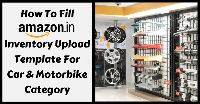 Amazon Template in Excel for Car & Motorbike