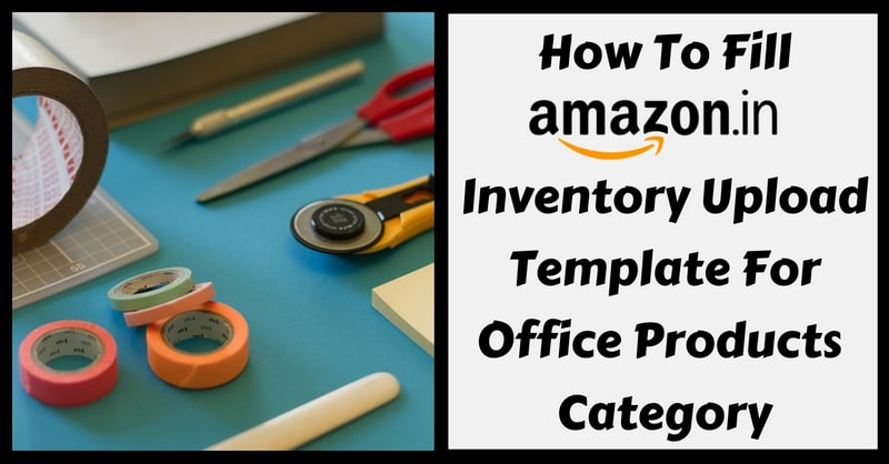 Amazon Template in Excel for Office Products