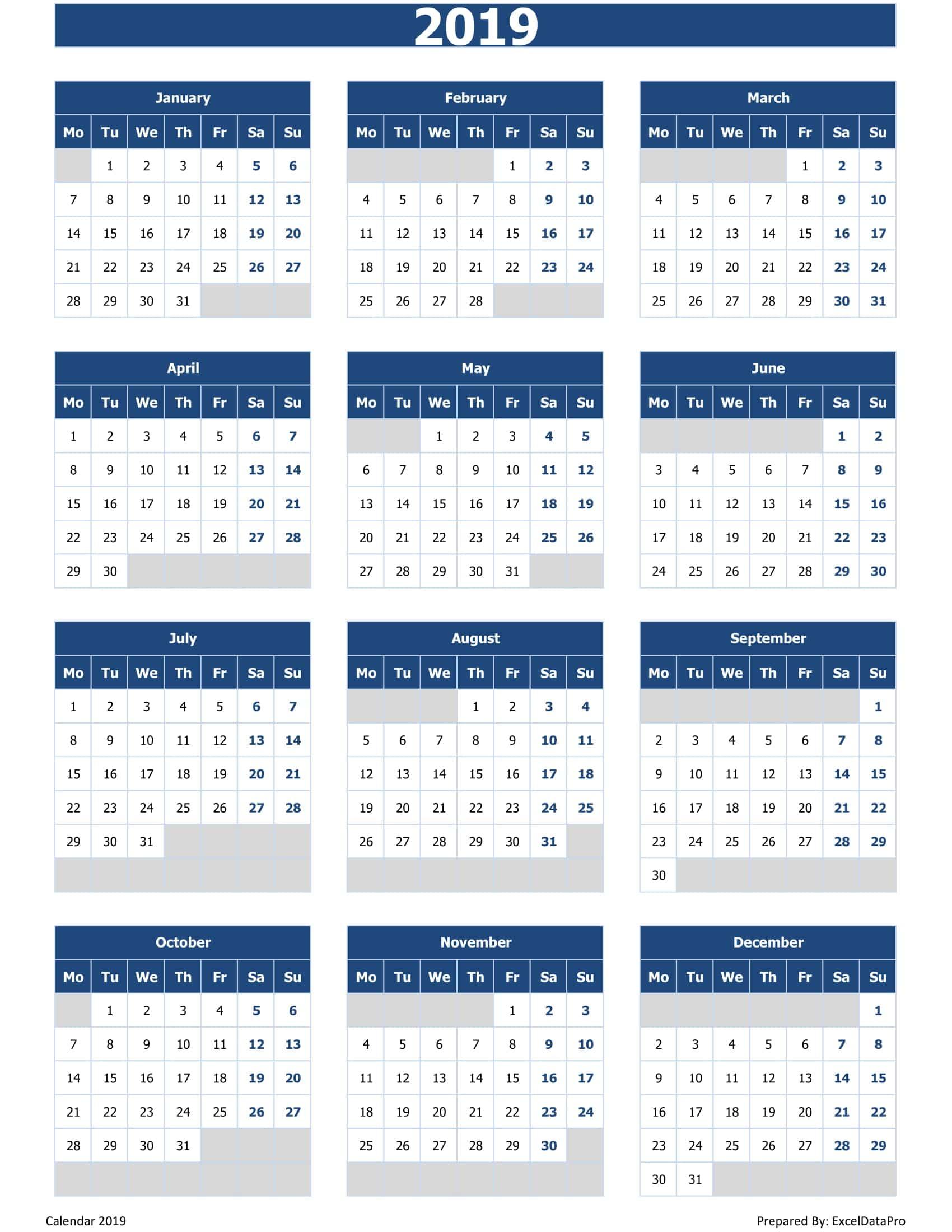 2019 Blue Mon Start