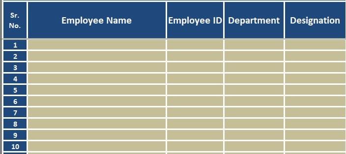Employee Vacation Tracker