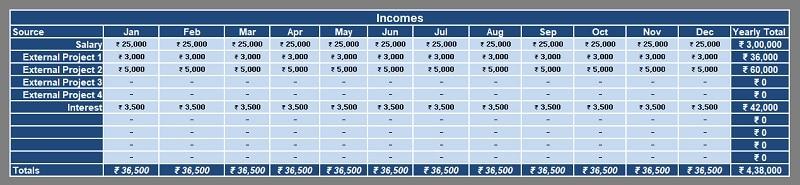 Income Register