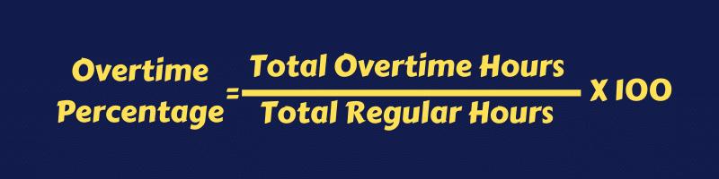 Employee Overtime Percentage