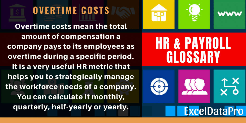 What Are Overtime Costs? Definition, Formula & Applicability