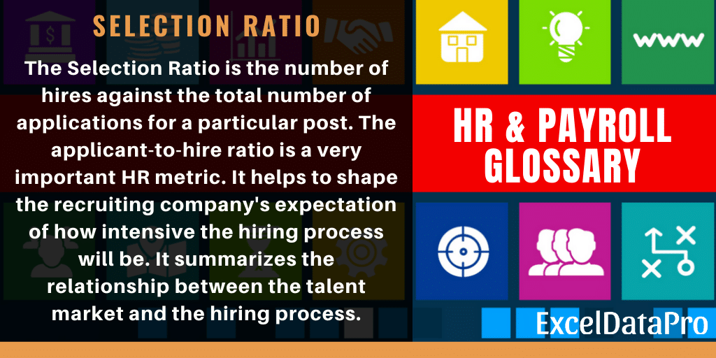 What is Selection Ratio? Definition, Formula & Applicability