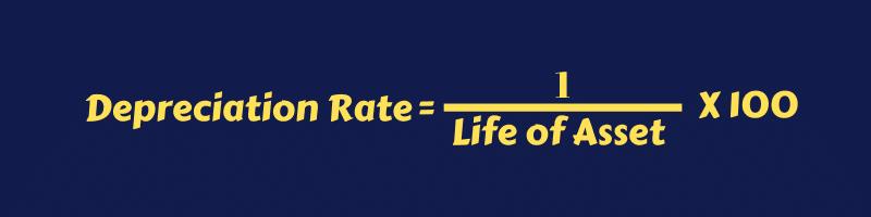 Depreciation Rate Formula