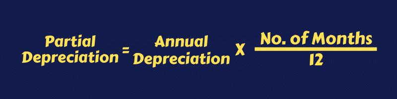 Partial Depreciation